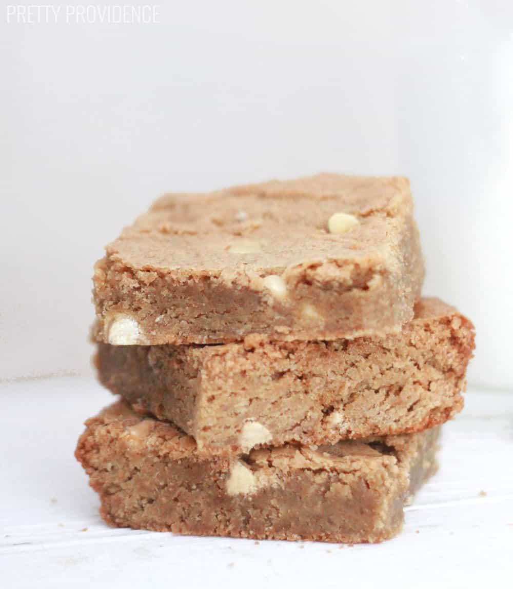 White Chocolate Blondies are straight from heaven!