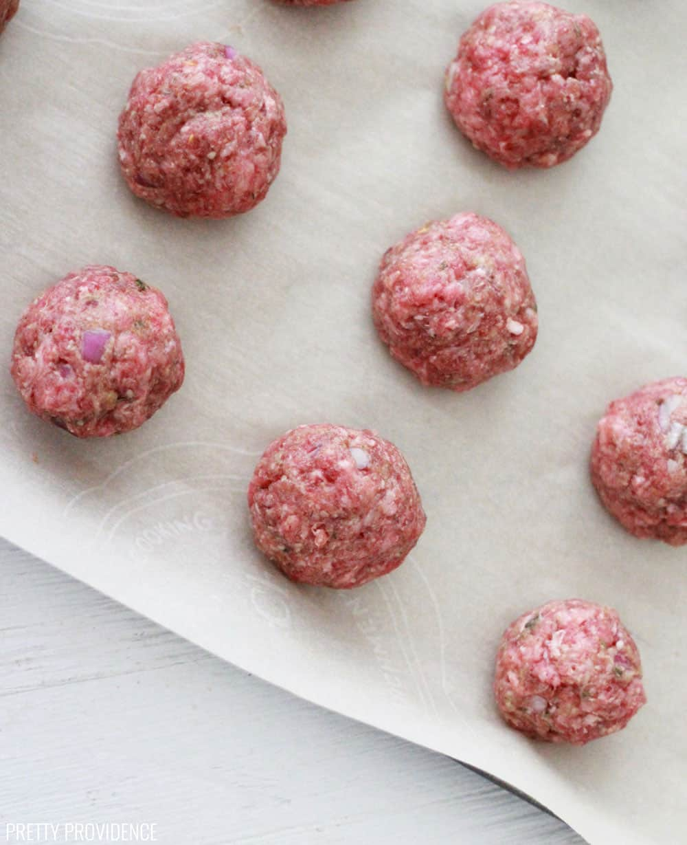 Freezer Meatball Recipe