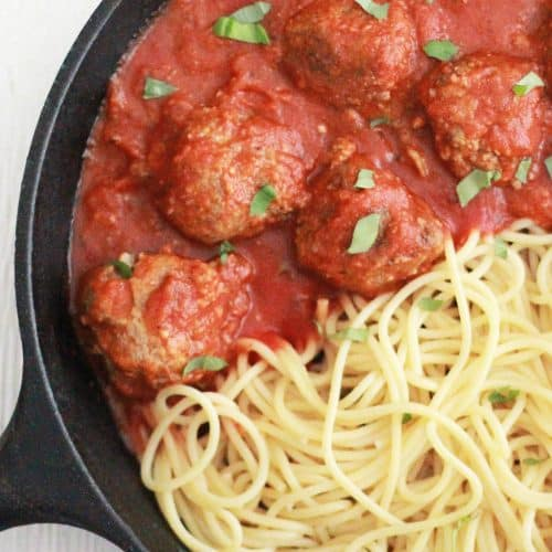 Perfect Freezer Meatballs
