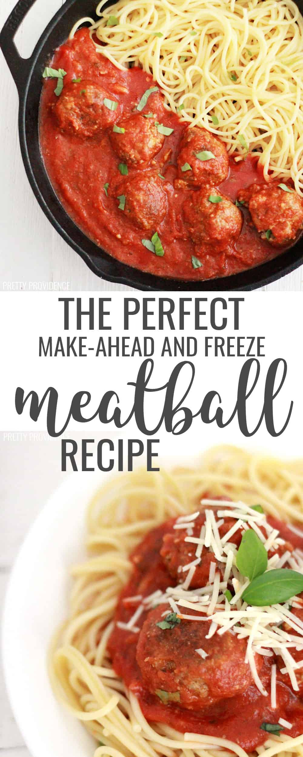 This is the perfect make-ahead and freeze homemade meatball recipe! You will love these meatballs for kid-friendly meals your whole family will love!  #meatball #meatballrecipe #freezerfriendly #freezercooking #freezerrecipe #freezermeatballs #makeaheadandfreeze #cooking #recipes #easyrecipe #easyfoodrecipe #dinner #dinnerideas #easydinner #easyrecipes