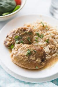Easy and delicious maple dijon chicken freezer meal!