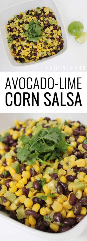 This Avocado Cilantro Lime Salsa is delicious and healthy snack ...