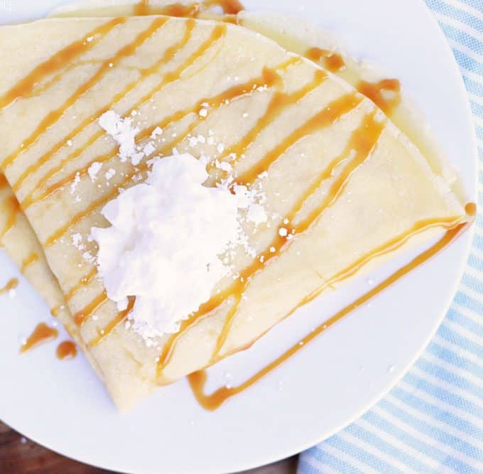 The Best Crepe Recipe Ever
