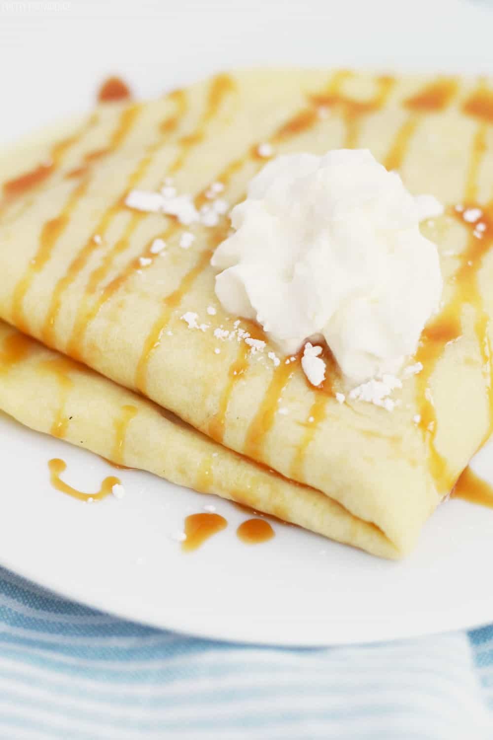 How to make crepes. Easy crepe recipe with simple ingredients!