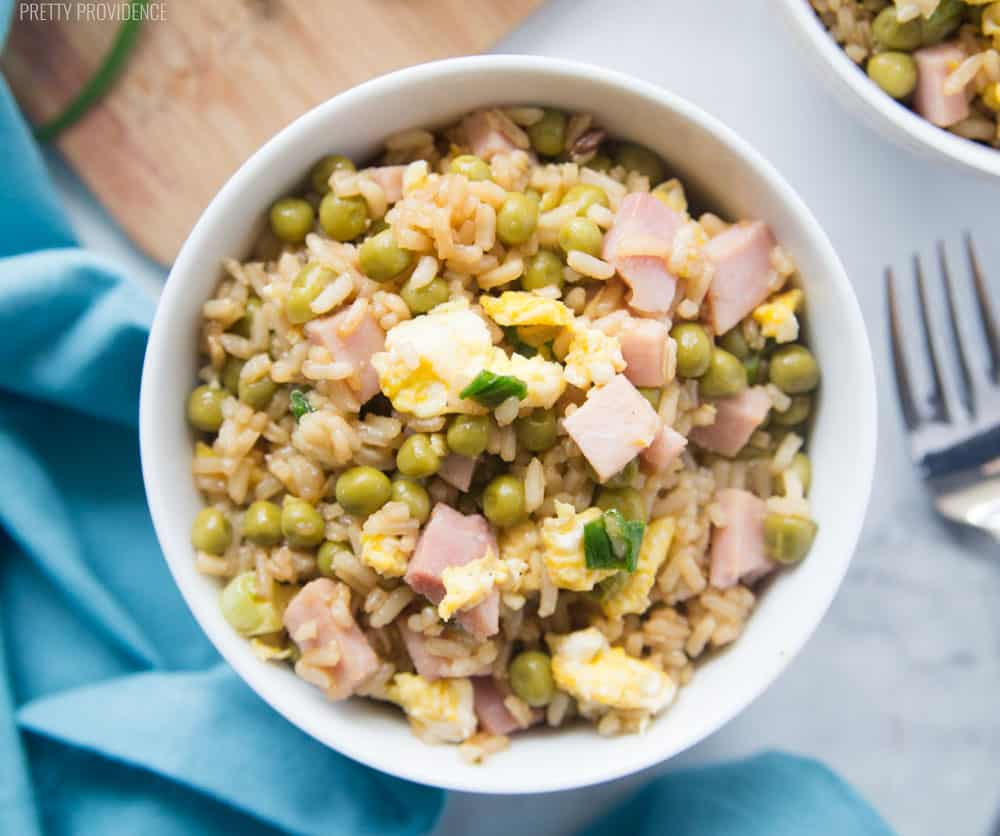 Homemade fried rice is definitely one of our family's very favorite meals! Even the pickiest of eaters will love this restaurant copycat!