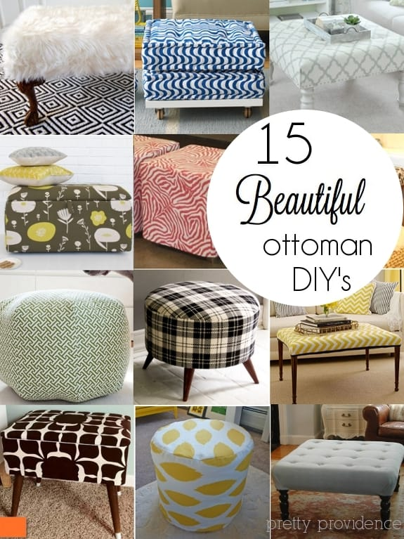 15 Diy Ottoman Ideas Pretty Providence