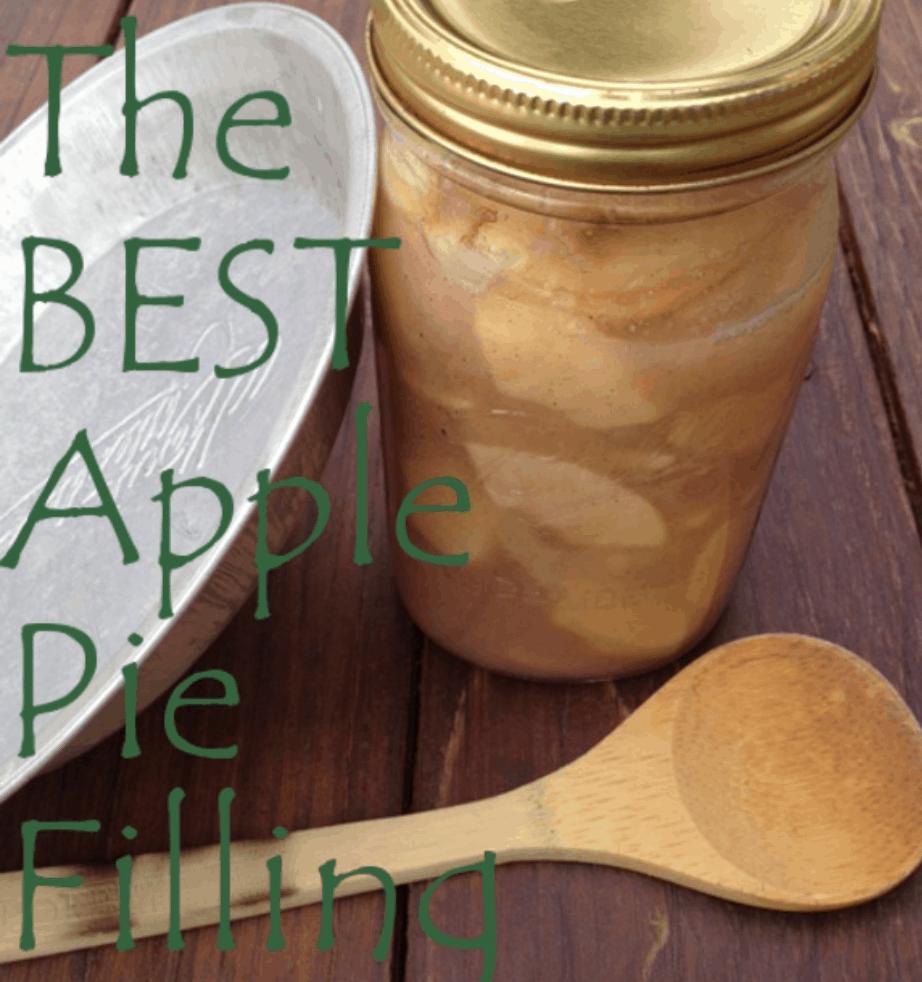 The Best Apple Pie Filling