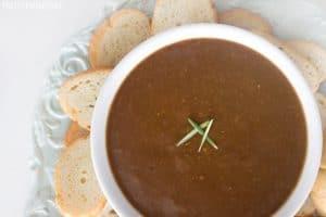 Balsamic Vinegar and Olive Oil Bread Dip