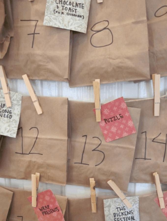Fun and Easy DIY Advent Calendar