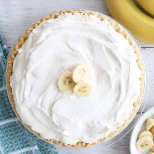 Easy and Delicious Banana Cream Pie