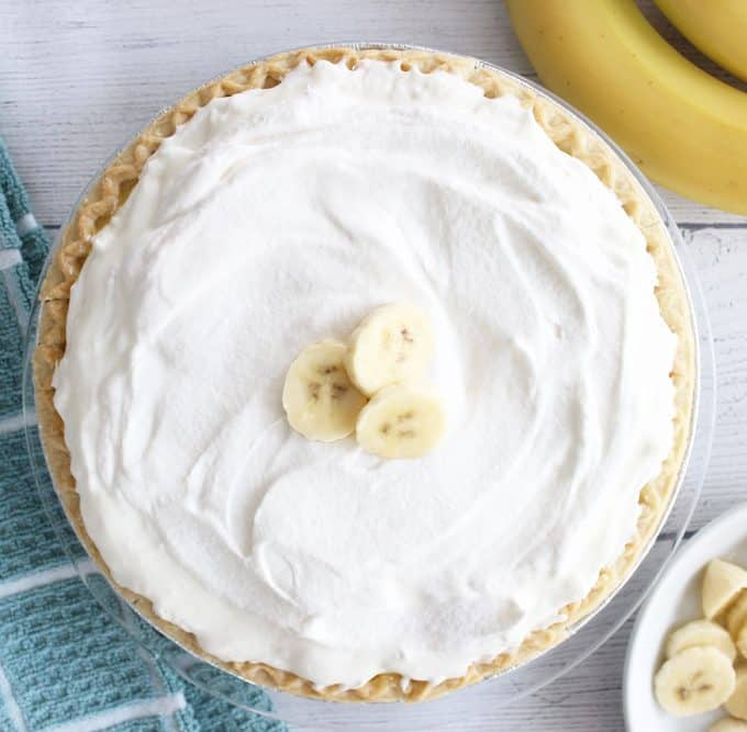 A banana cream pie recipe so delicious you won't believe how easy it is to make!