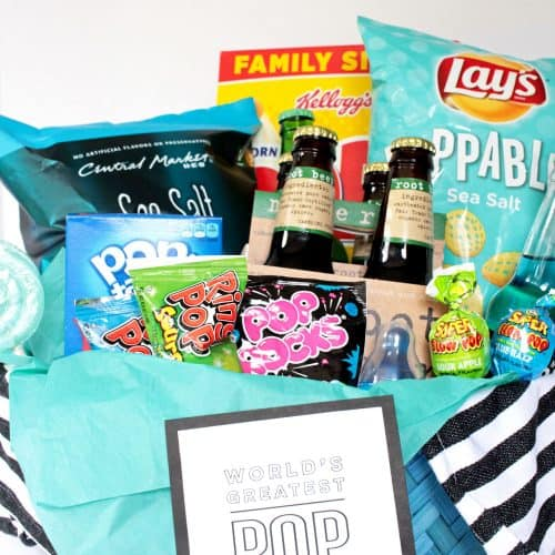 World's Greatest Pop Gift Basket