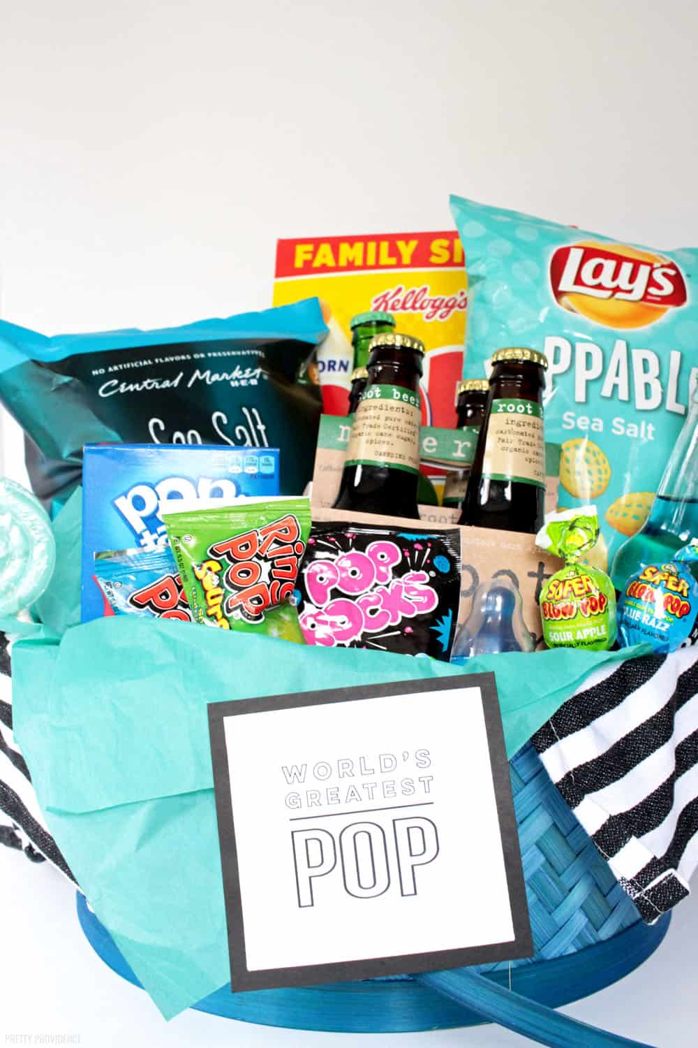 Gift Baskets for Men - World's Best Pop