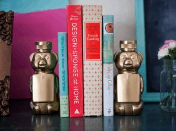 Honey Bear Bookends + A Sneak Peak!