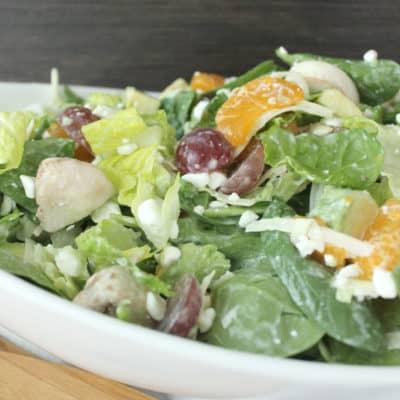 Spinach Poppyseed Salad