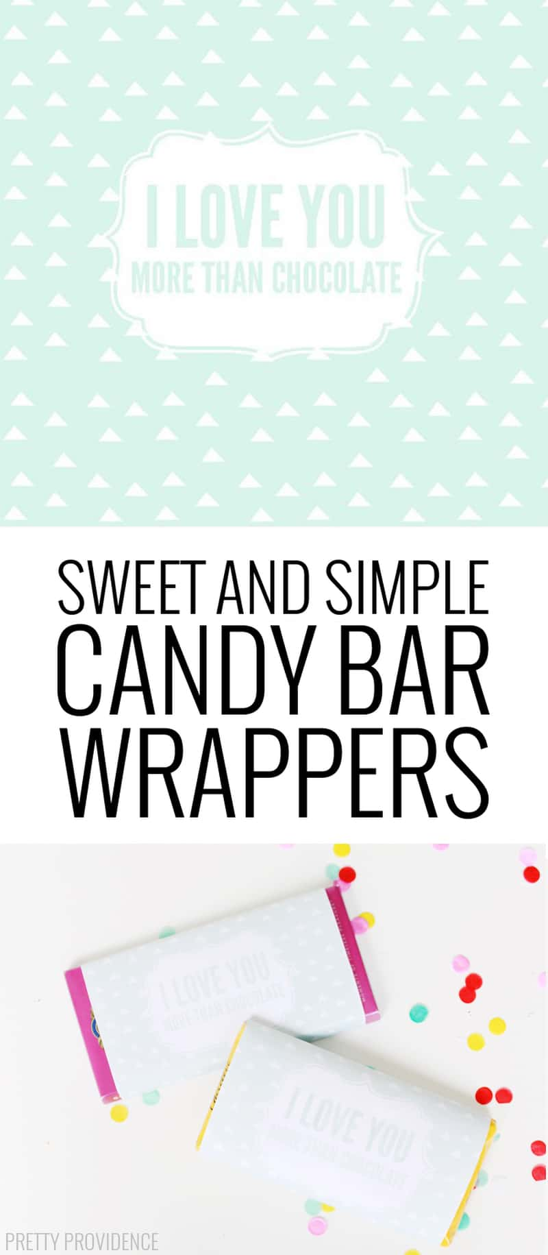 Cute printable candy bar wrappers! Perfect for Mother's Day!