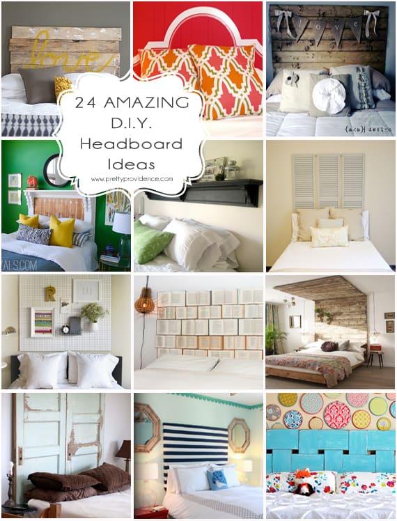 Interesting Headboard Ideas Part - 35: 24 AMAZING DIY Headboard Ideas