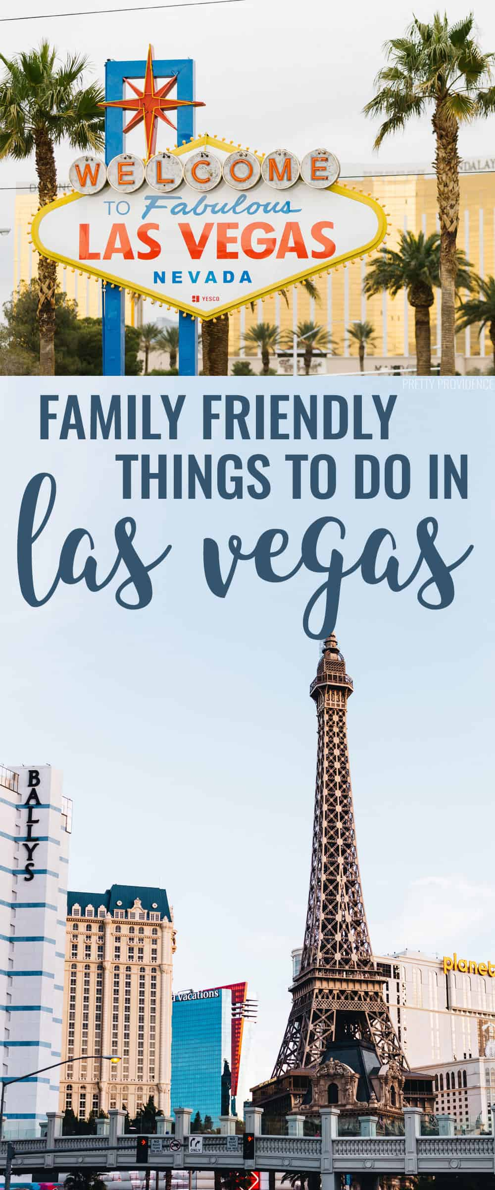 Family friendly hotels and things to do in Las Vegas!