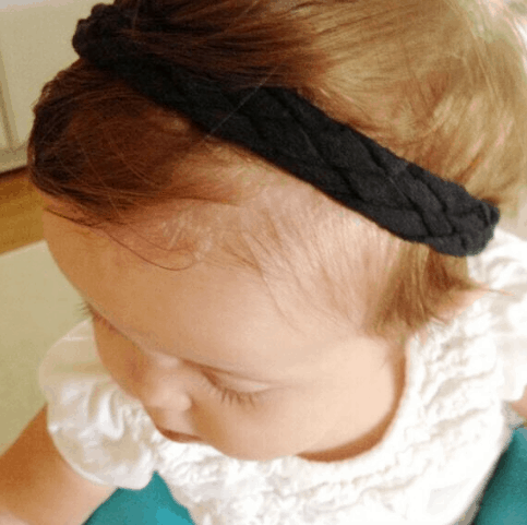 T-Shirt to 5 Strand Braided Headband Tutorial
