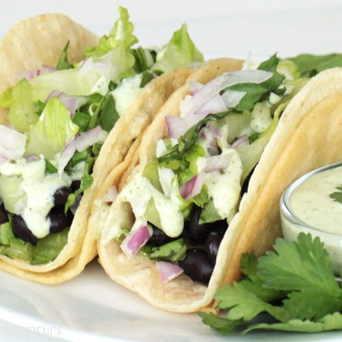 Best Black Bean Tacos Recipe