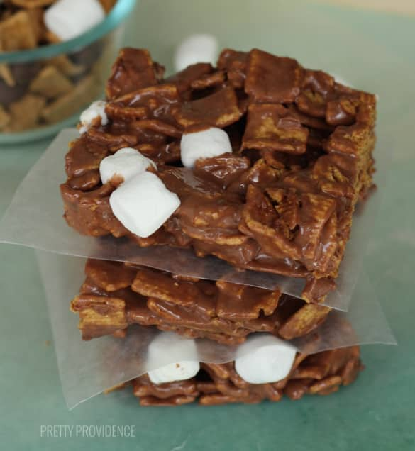 Golden Grahams S'more Bars!