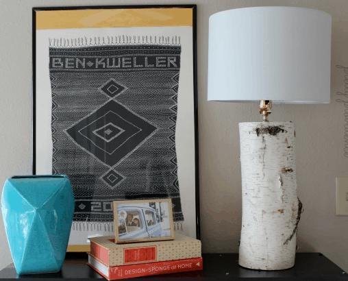 DIY Aspen Lamp Base