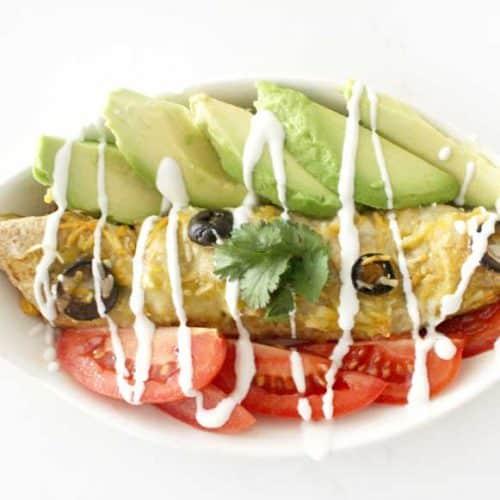 Grandma Kim's Best Ever Healthy Chicken Enchiladas