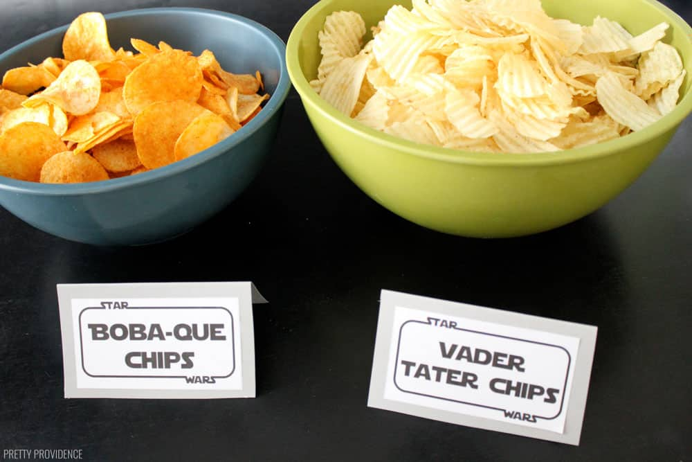 Star Wars Food - Boba Que Chips