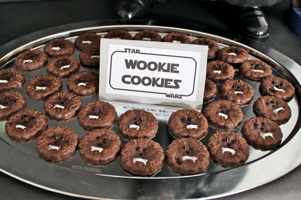 Star Wars Party Food - Wookie Cookies