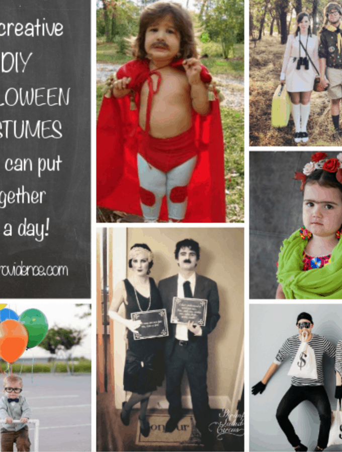 Cheap DIY Halloween Costumes You Can Put Together in a Day