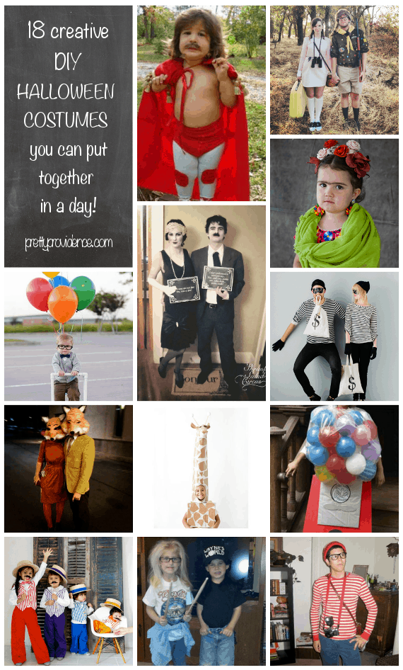 cheap halloween costumes you can put together in a day