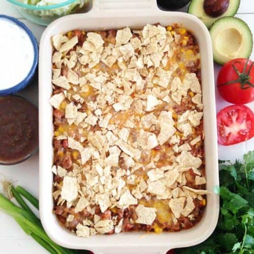 Easy and Flavorful Taco Casserole