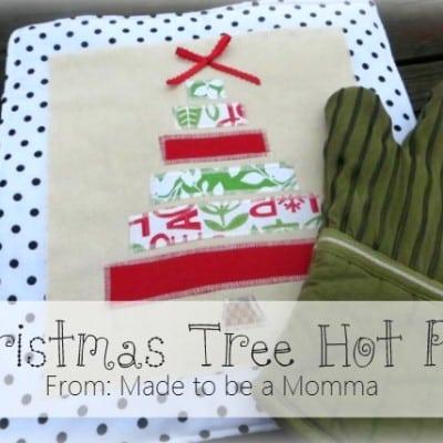 Christmas Tree Hot Pads