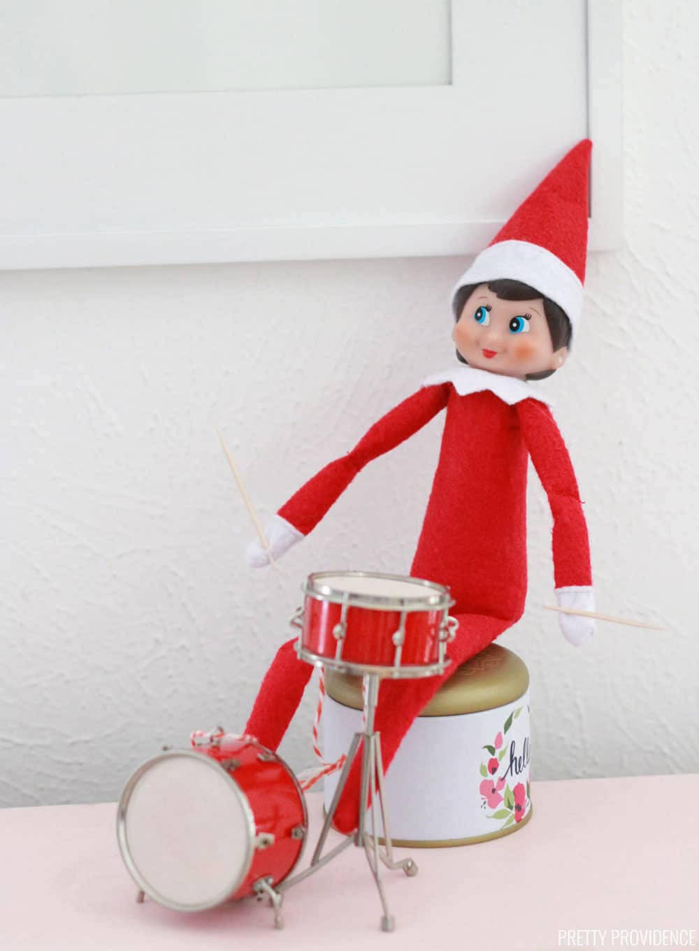 Elf on the Shelf Props - Drums