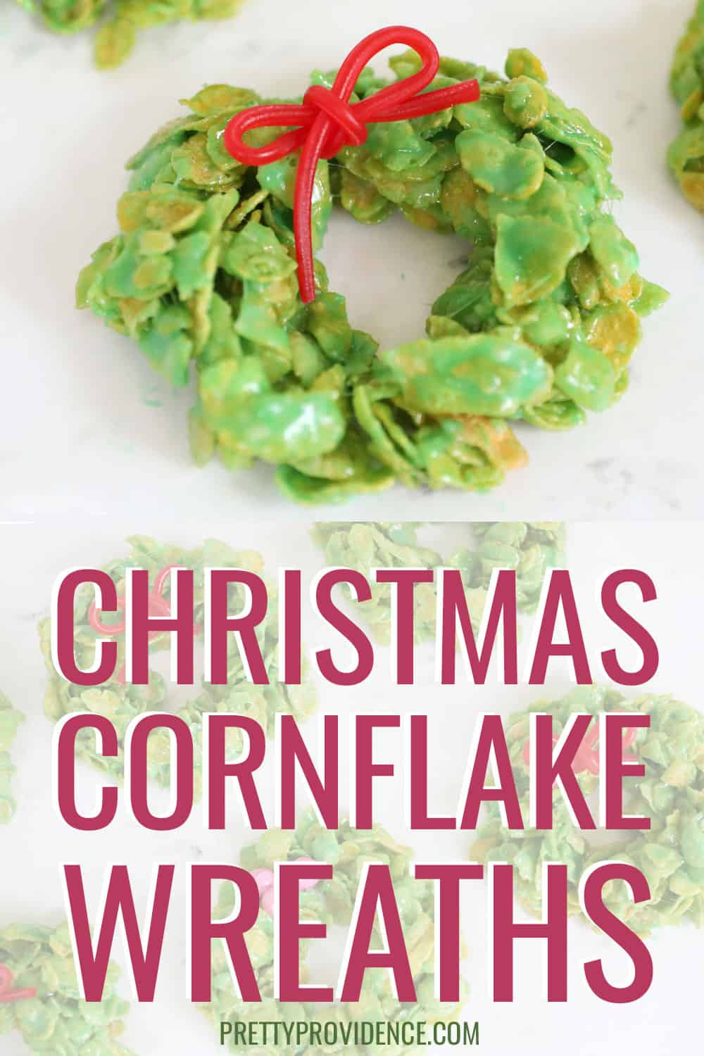 Christmas cornflake wreaths!
