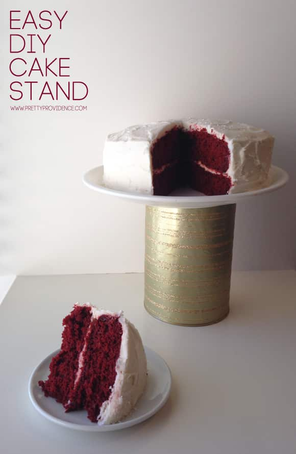 easy cake stand diy. Black Bedroom Furniture Sets. Home Design Ideas