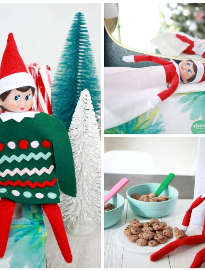 Cute and Funny Elf on the Shelf Ideas