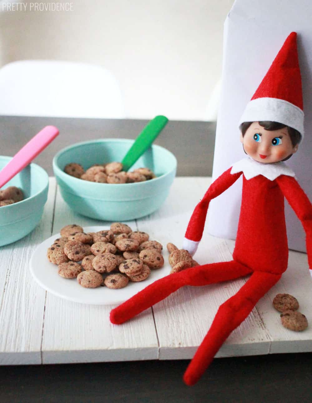 Elf on the Shelf Makes Cookies for Breakfast
