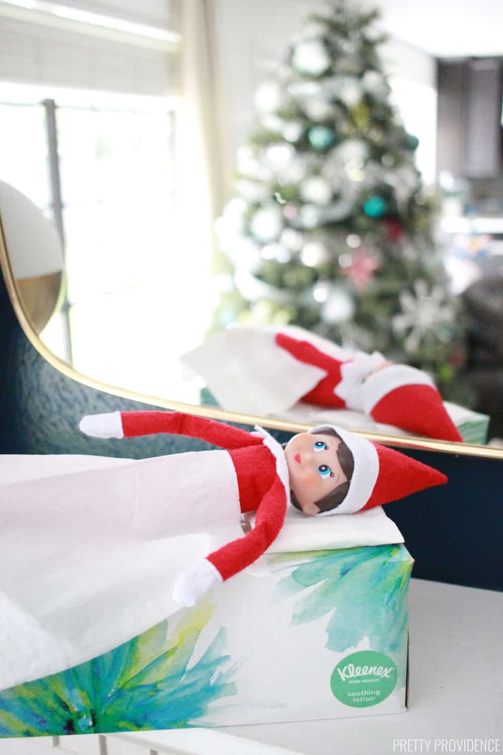 Elf on the Shelf Tissue Box