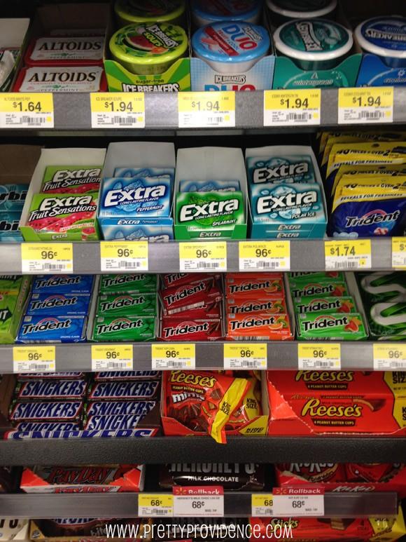 holiday neighbor gift idea with extra gum