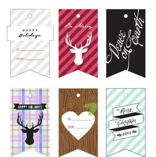Printable Holiday Gift Tags