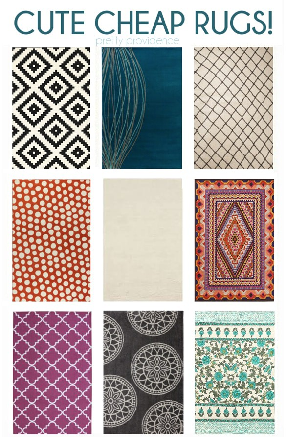 cheap cute modern rugs
