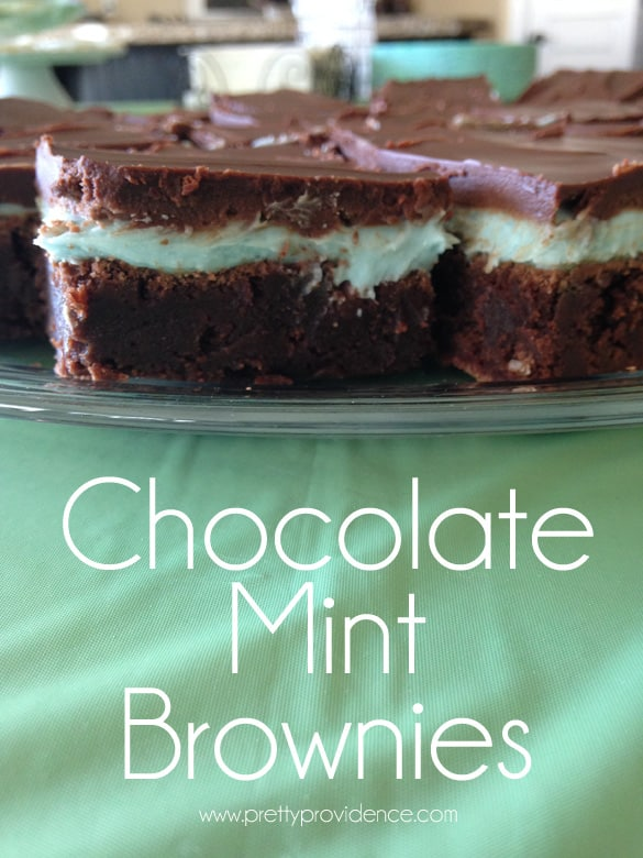 world's best chocolate mint brownies