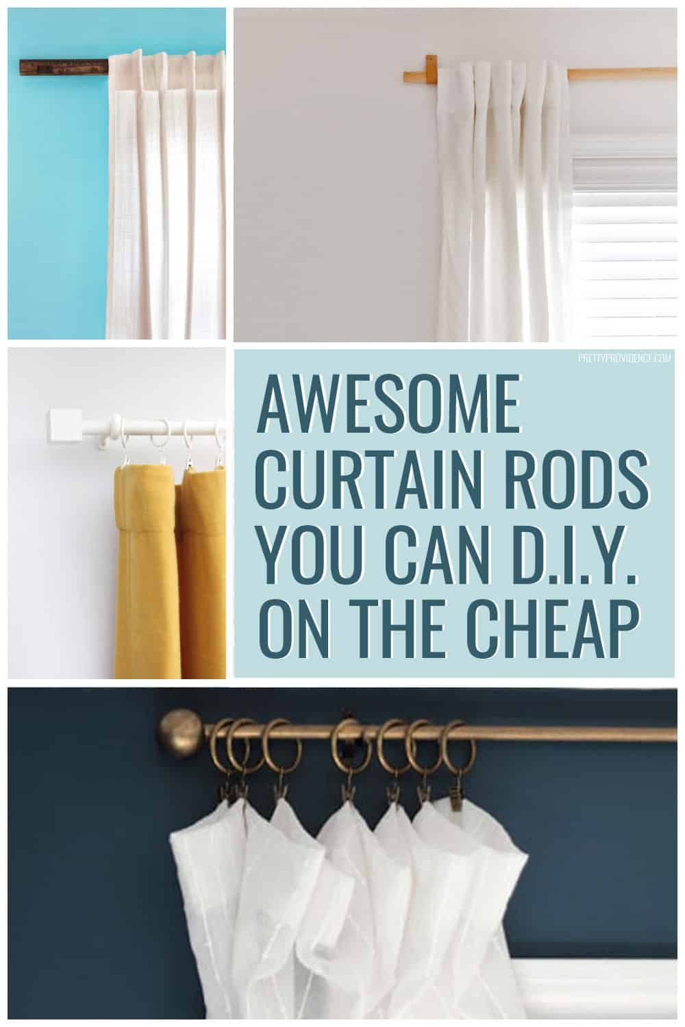 the curtain rod secret that will save you lots of $$$! pin now, read ...