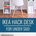 IKEA Desk Hack - IKEA office ides