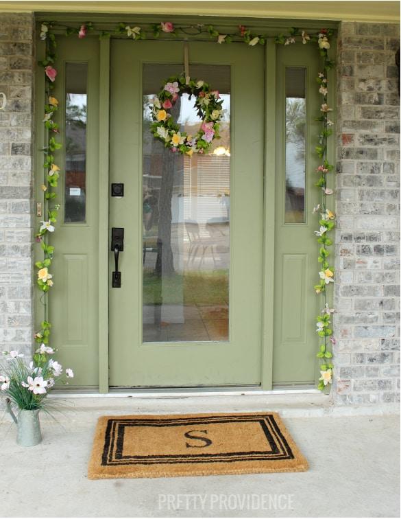 front door for spring