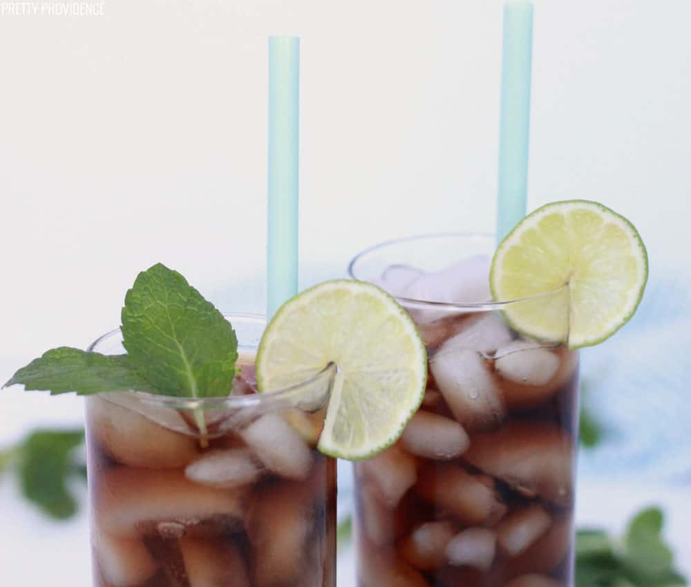 Dr. Pepper with Coconut and Lime