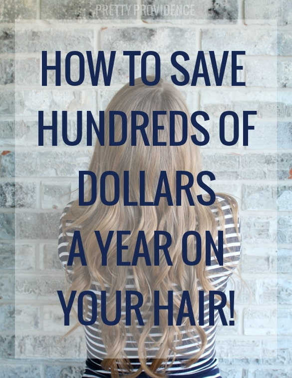 how to save hundreds of dollars per year on haircuts + coloring!