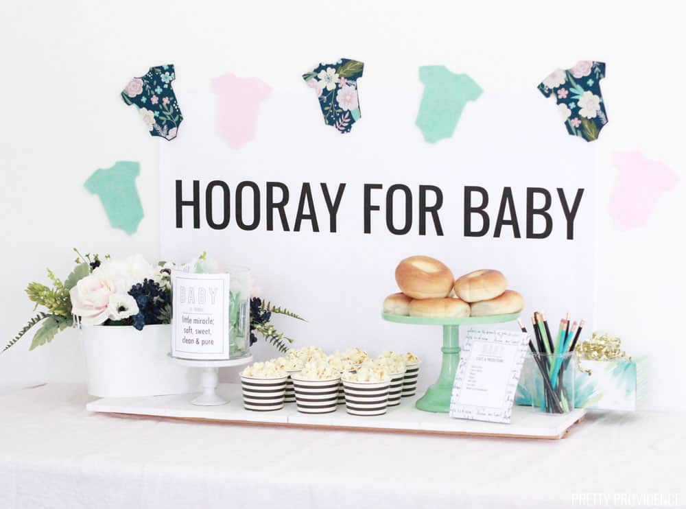 How To Throw A Baby Shower On A Budget Free Printables