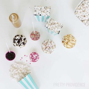 Party Popcorn Topping Bar!